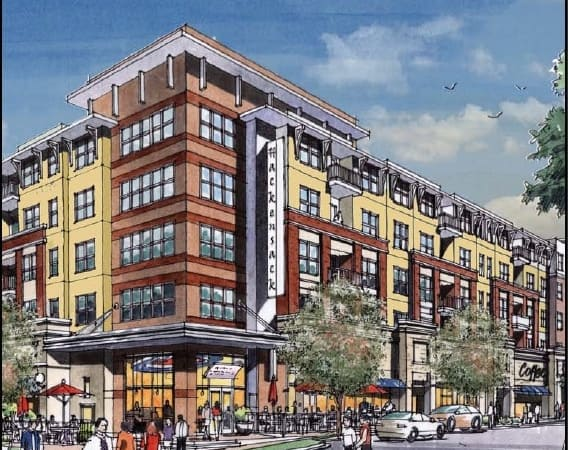 Future Hackensack Apartment Complex Image