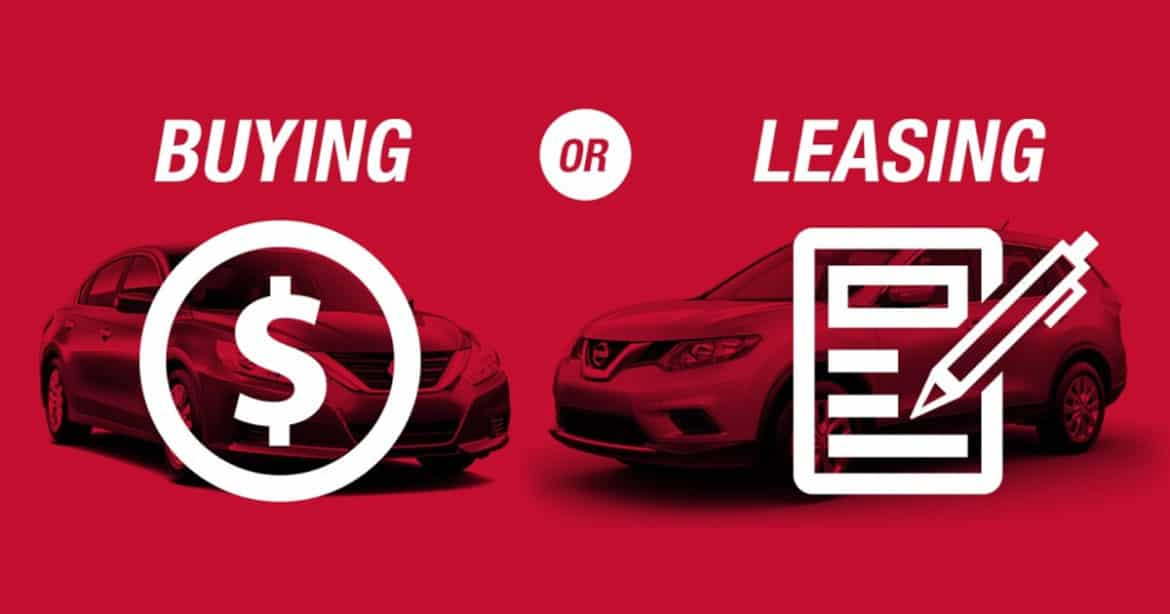 Leasing a new car or buying a new car blog