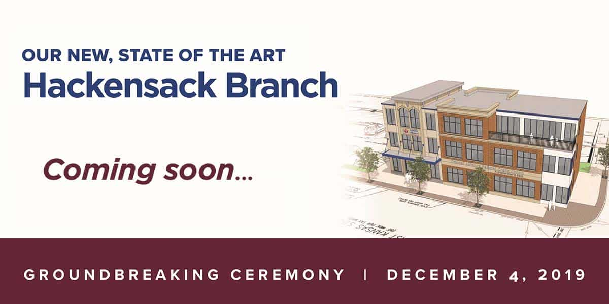 New Hackensack Branch banner