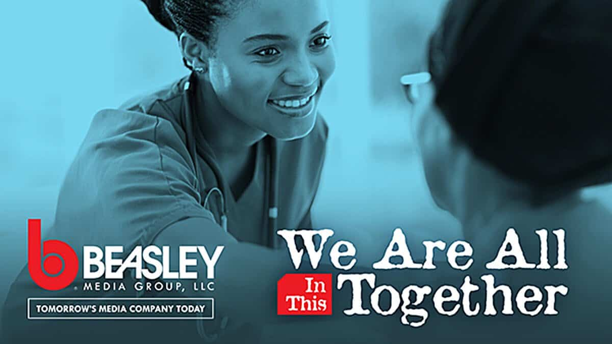 We Are All in This Together email newsletter header