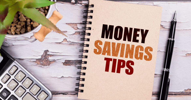 Money savings tips blog header