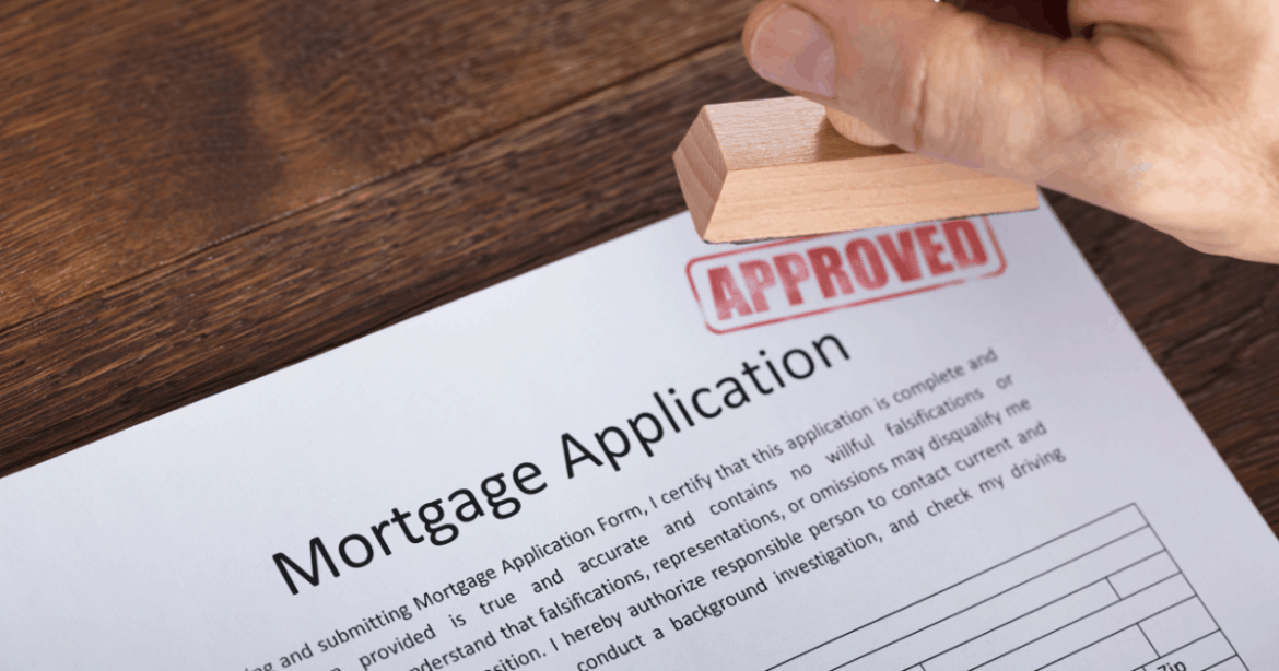 Mortgage application approved image