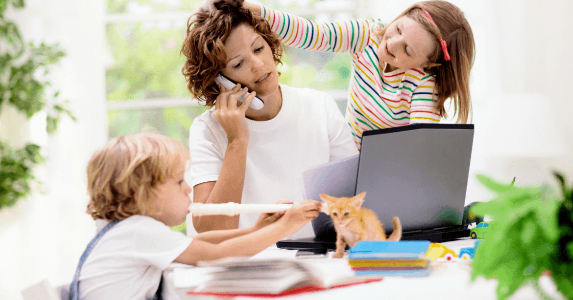 Tips To Make Managing Work and Kids While Working From Home Easier banner